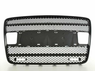 Решётка радиатора от FK Automotive Black с DRL на Audi Q7