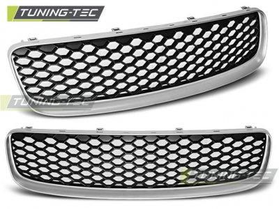 Решётка радиатора от Tuning-Tec RS Look Silver на Audi TT 8N
