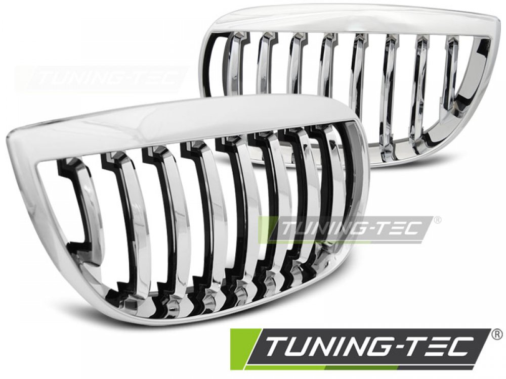 Решётка радиатора от Tuning-Tec Chrome Evo Look на BMW 1 E81 / E87