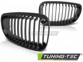 Решётка радиатора от Tuning-Tec Matt Black на BMW 1 E81 / E87 рестайл