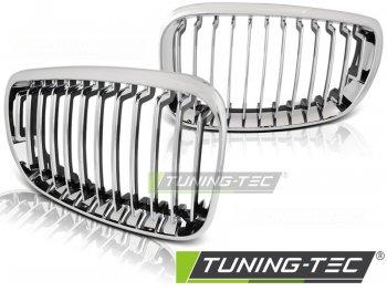 Решётка радиатора от Tuning-Tec Chrome на BMW 1 E81 / E87 рестайл