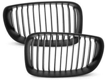 Решётка радиатора от Dectane Black на BMW 1 E81 / E87 рестайл