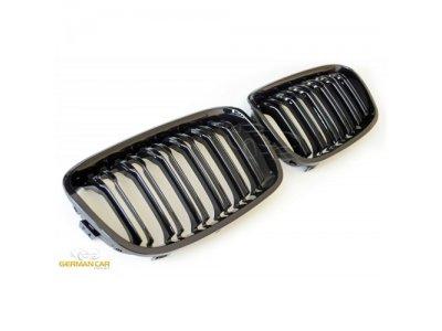 Решётка радиатора M1 Look от Germanparts Glossy Black на BMW 1 F20 / F21