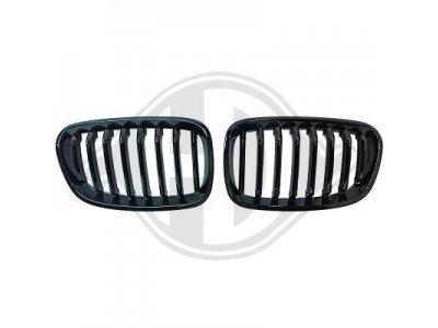 Решётка радиатора от HD Glossy Black на BMW 1 F20 / F21