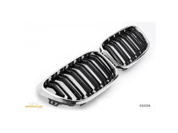 Решётка радиатора M2 Look Black Chrome от GermanParts на BMW 2 F22 / F23