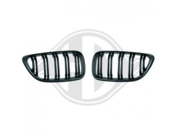 Решётка радиатора от HD Evo M Look Black на BMW 2 F22 / F23