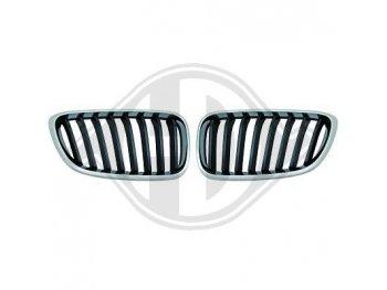 Решётка радиатора от HD M-Performance Look Black Chrome на BMW 2 F22 / F23