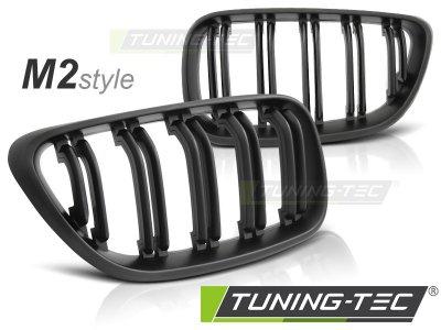 Решётка радиатора M2 Look Matt Black от Tuning-Tec на BMW 2 F22 / F23