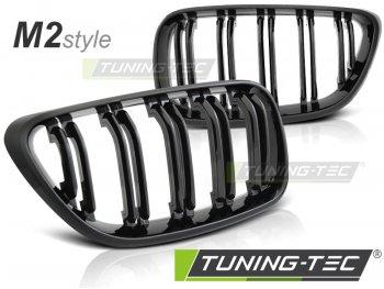 Решётка радиатора M2 Look Glossy Black от Tuning-Tec на BMW 2 F22 / F23