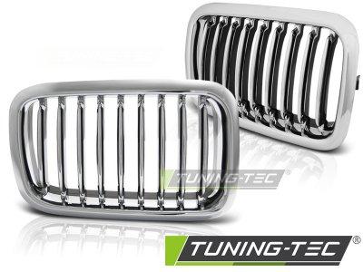 Решётка радиатора от Tuning-Tec Chrome на BMW 3 E36