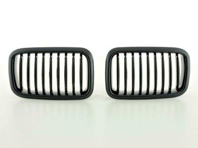 Решётка радиатора от FK Automotive Carbon Look на BMW 3 E36