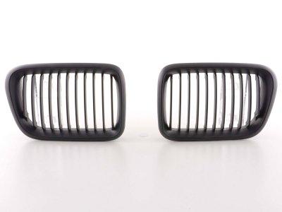 Решётка радиатора от FK Automotive Black на BMW 3 E36 рестайл