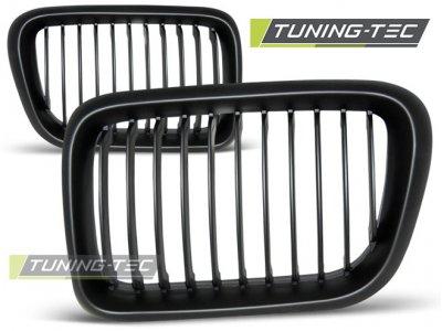 Решётка радиатора Black от Tuning-Tec на BMW 3 E46 Limousine / Touring рестайл