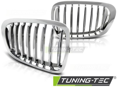 Решётка радиатора Chrome от Tuning-Tec на BMW 3 E46 Coupe / Cabrio