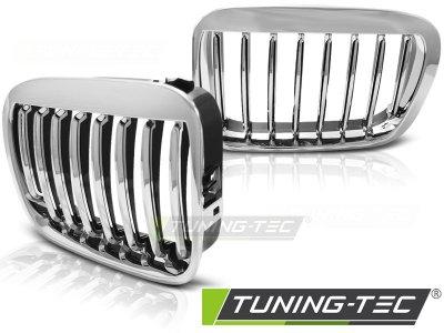 Решётка радиатора Chrome от Tuning-Tec на BMW 3 E46 Limousine / Touring