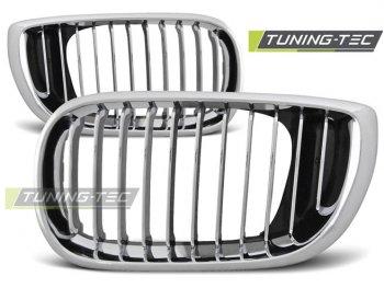 Решётка радиатора Chrome от Tuning-Tec на BMW 3 E46 Limousine / Touring рестайл