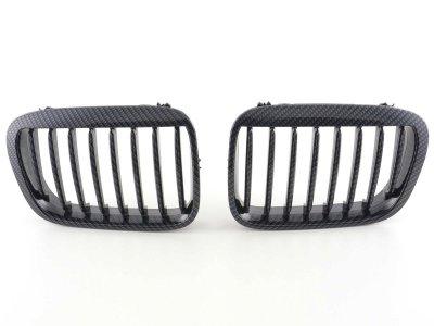 Решётка радиатора от FK Automotive Carbon Look на BMW 3 E46 Limousine
