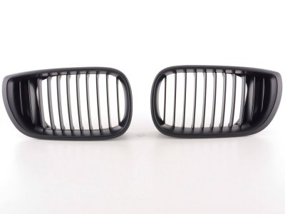 Решётка радиатора EVO от FK Automotive Black на BMW 3 E46 Limousine рестайл