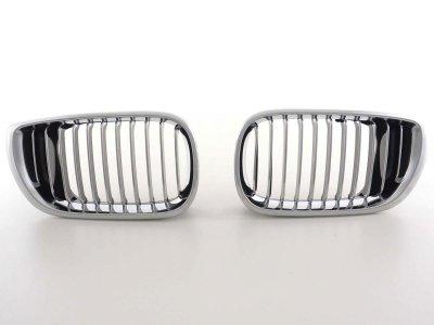 Решётка радиатора от FK Automotive Black Chrome на BMW 3 E46 Limousine рестайл