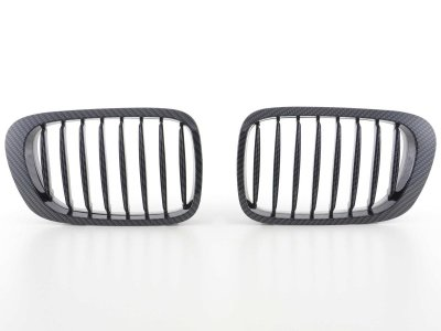 Решётка радиатора от FK Automotive Carbon Look на BMW 3 E46 Coupe