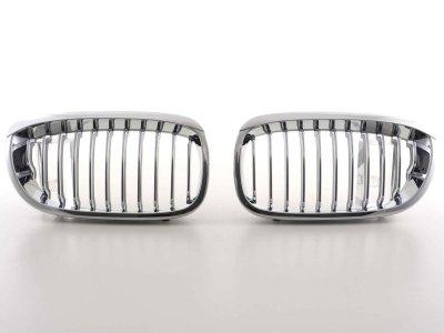 Решётка радиатора от FK Automotive Black Chrome на BMW 3 E46 Coupe рестайл