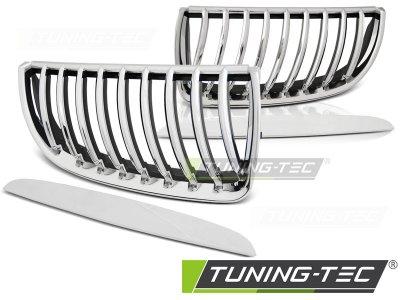 Решётка радиатора от Tuning-Tec Chrome на BMW 3 E90