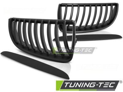 Решётка радиатора от Tuning-Tec Matt Black на BMW 3 E90