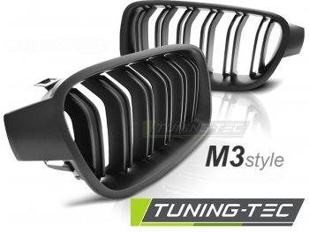 Решётка радиатора M3 Look Matte Black на BMW 3 F30 / F31