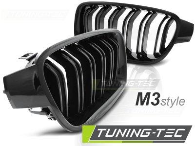 Решётка радиатора M3 Look Glossy Black на BMW 3 F30 / F31