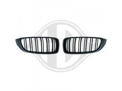 Решётка радиатора от HD M4 Look Matte Black на BMW 4 F32 / F33 / F36