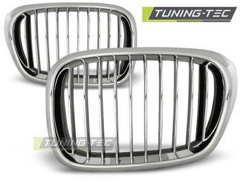 Решётка радиатора Chrome от Tuning-Tec на BMW 5 E39
