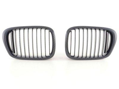 Решётка радиатора от FK Automotive Carbon Look на BMW 5 E39
