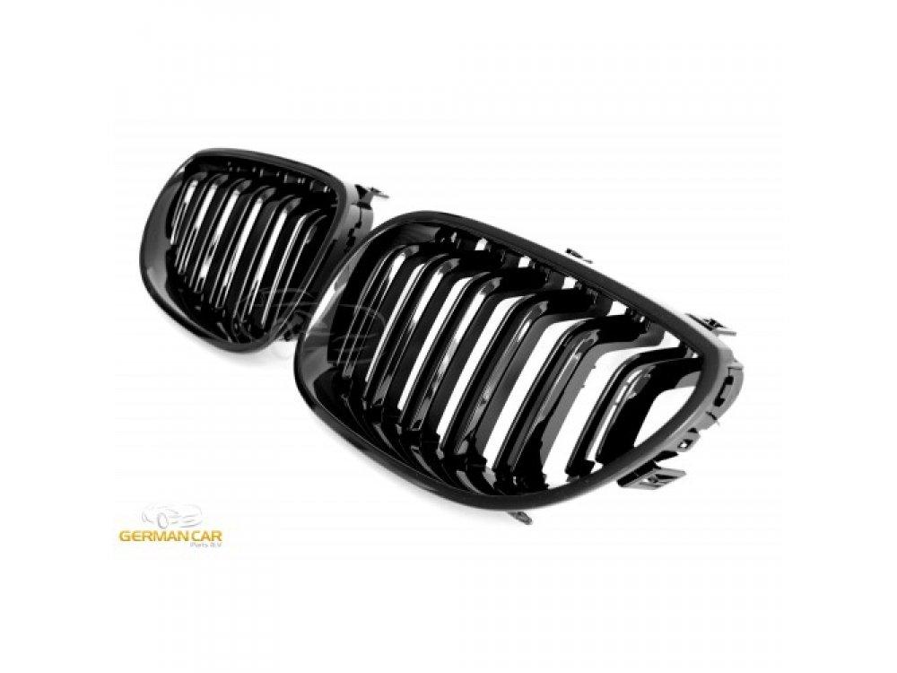 Решётка радиатора Glossy Black M5 Look от Germanparts на BMW 5 E60 / E61