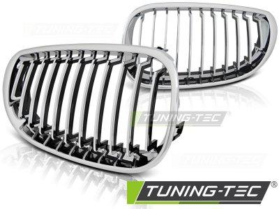 Решётка радиатора Chrome от Tuning-Tec на BMW 5 E60 / E61