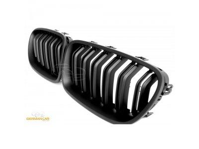 Решётка радиатора Matt Black M5 Look от Germanparts на BMW 5 F10 / F11
