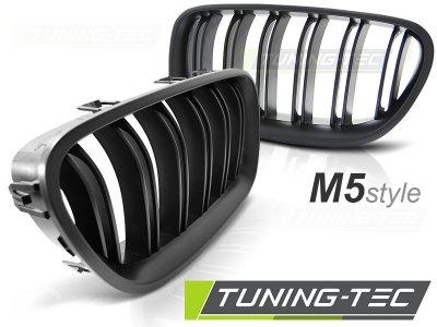 Решётка радиатора от Tuning-Tec M5 Look Black на BMW 5 F10 / F11