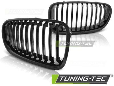 Решётка радиатора от Tuning-Tec Glossy Black на BMW 5 F10 / F11