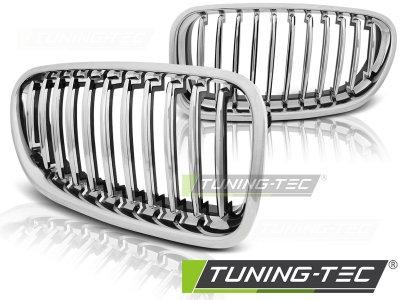 Решётка радиатора от Tuning-Tec Chrome на BMW 5 F10 / F11