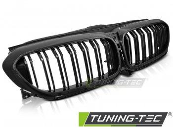 Решётка радиатора чёрный глянец в стиле М5 на BMW 5 G30 / G31