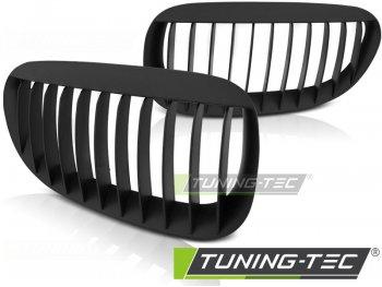 Решётка радиатора Tuning-Tec Matt Black на BMW 6 E63