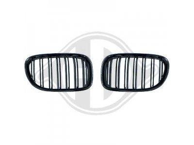 Решётка радиатора Glossy Black M Look от HD на BMW 7 F01