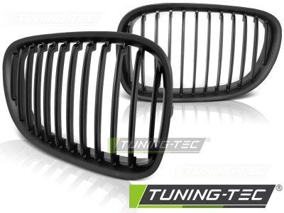 Решётка радиатора от Tuning-Tec Matt Black на BMW 7 F01