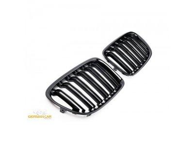 Решётка радиатора Glossy Black M Look от Germanparts на BMW X1 E84