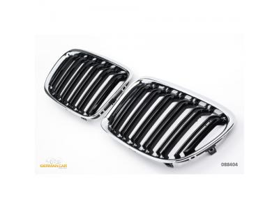 Решётка радиатора Black Chrome X1M Look от Germanparts на BMW X1 E84