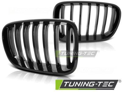 Решётка радиатора Glossy Black от Tuning-Tec на BMW X3 F25