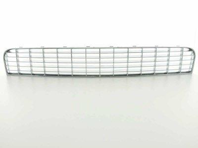 Решётка радиатора от FK Automotive Full Chrome с DRL на Fiat Grande Punto