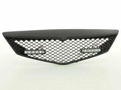 Решётка радиатора от FK Automotive Black с DRL на Mazda 2