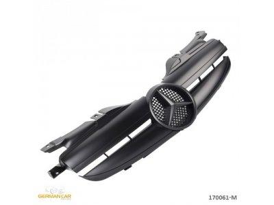 Решётка радиатора AMG 65 Look Matt Black на Mercedes SLK класс R170