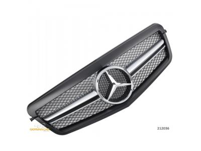 Решётка радиатора AMG Look Matt Black на Mercedes E класс W212