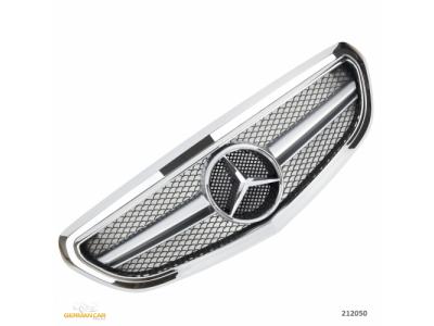 Решётка радиатора AMG Look Chrome, Avantgarde на Mercedes E класс W212 рестайл